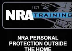 NRA Personal Protection Outside The Home Instructor