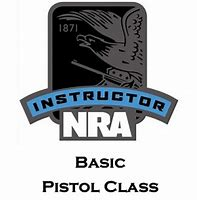 NRA Basic Pistol Instructor